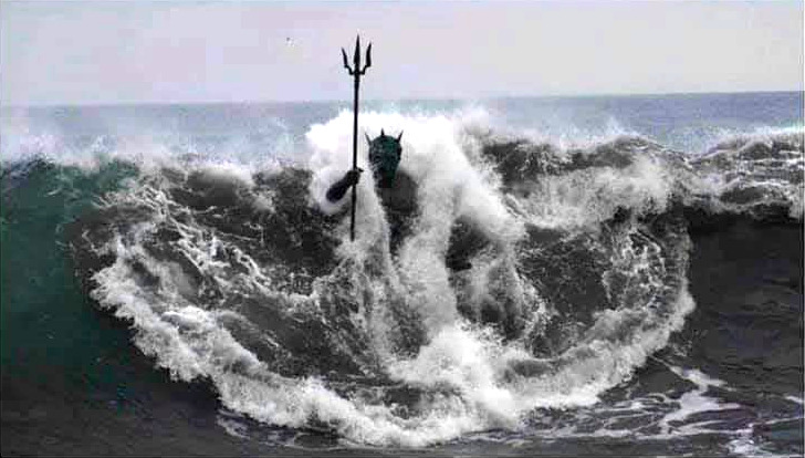 Neptun war in Urlaub