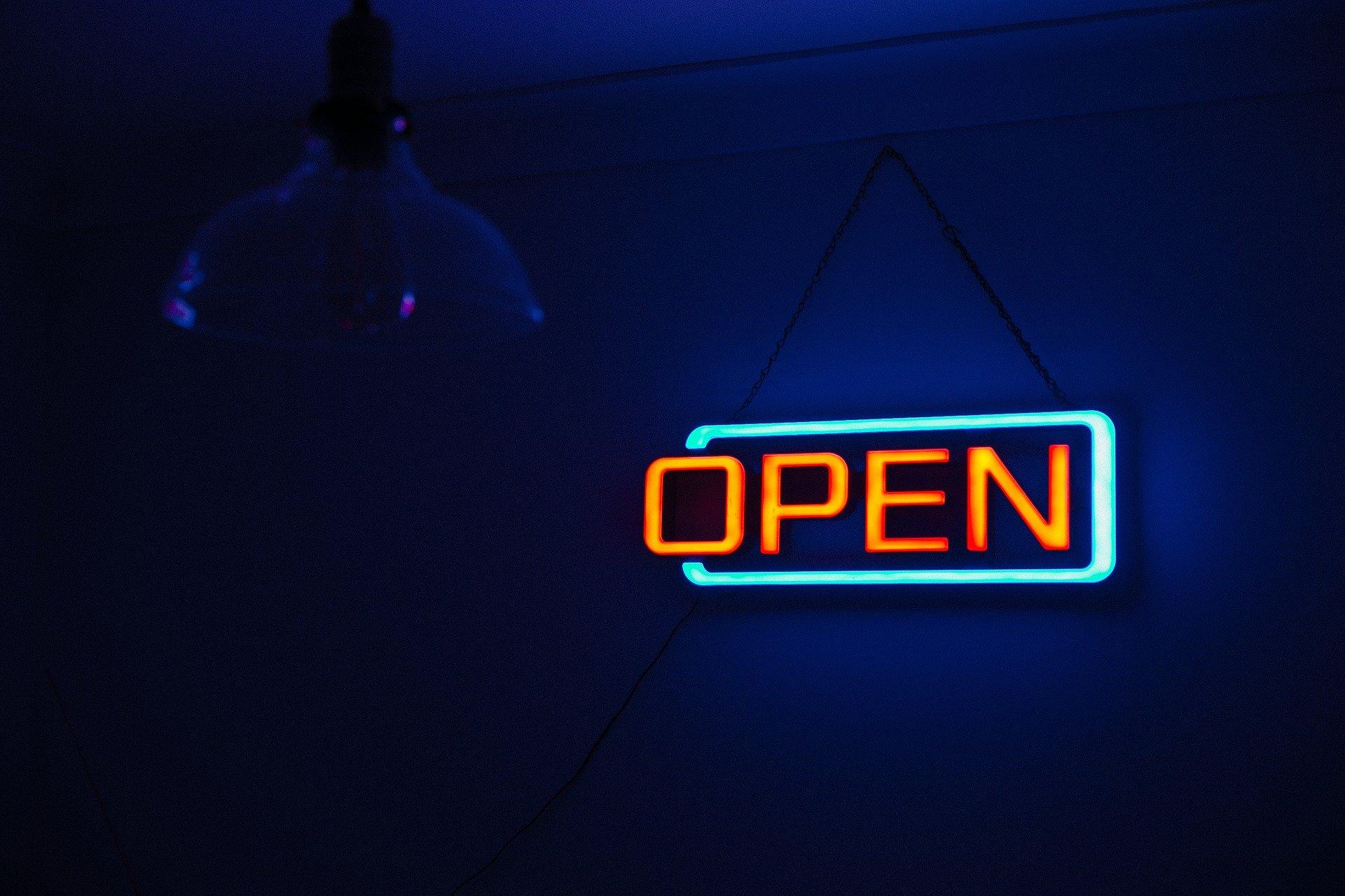 Geöffnet !